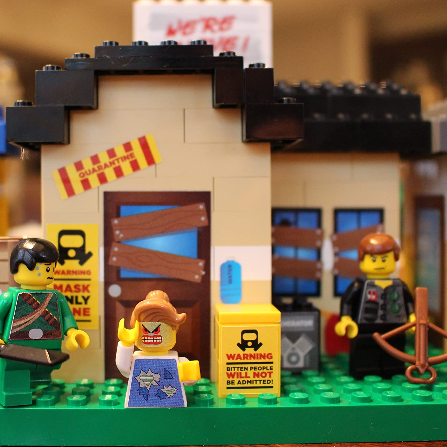 Reusable Stickers for Your Bricks Zombies MOD STIX