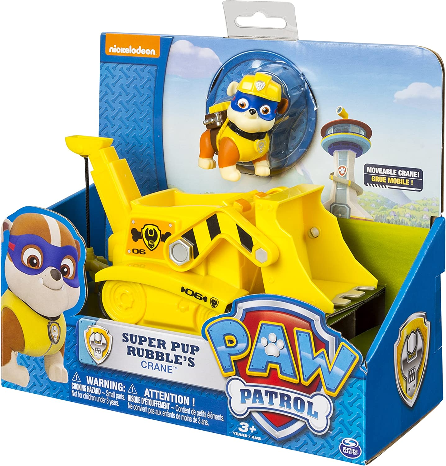 Nickelodeon Paw Patrol Mini Figure Super Pups décombres NEUF