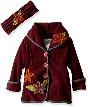 daab178aec7c Amazon.com  Widgeon Girls  Button Front Shawl Collar Coat and ...