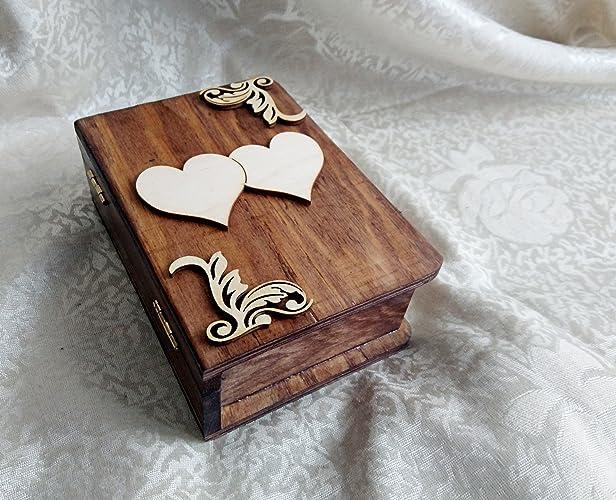 Amazoncom Wedding rings boxengagement ring box book shaped