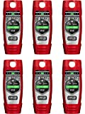Old Spice Hardest Working Collection Dirt Destroyer Body Wash, 16.0 Ounce (Pack of 6)