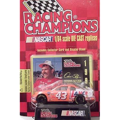 1997 Racing Champions Nascar 1/64 Dennis Setzer #43: Toys & Games