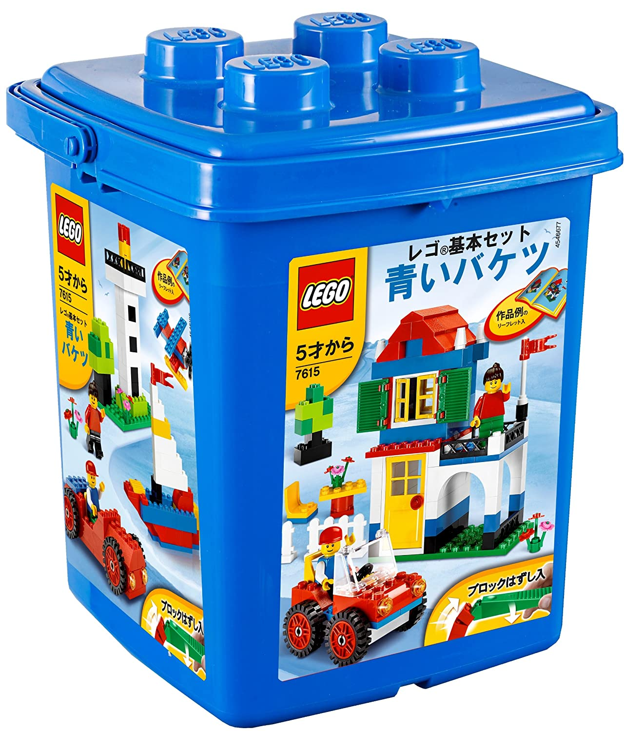 LEGO Basic Set [blu Bucket [Toy] (japan import)