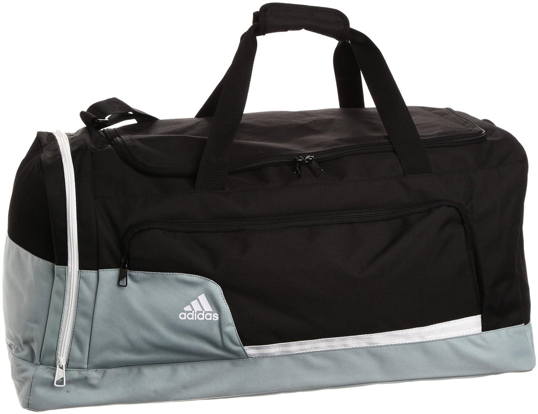 5fa097530951 adidas Tiro TB Sports Bag black silver white Size L  Amazon.co.uk  Sports    Outdoors
