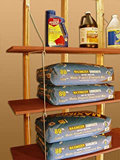 "product image for Quick - Shelf Hangers Three Shelf 16"" Deep Wall Mount Shelving Unit"