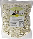 Lightly Sea Salted Whole Pumpkin Seeds, 2 LBS by Gerbs – Top 12 Food Allergy Free & Non GMO - Vegan & Kosher Certified - Dry Roasted In-Shell Pepitas from United States