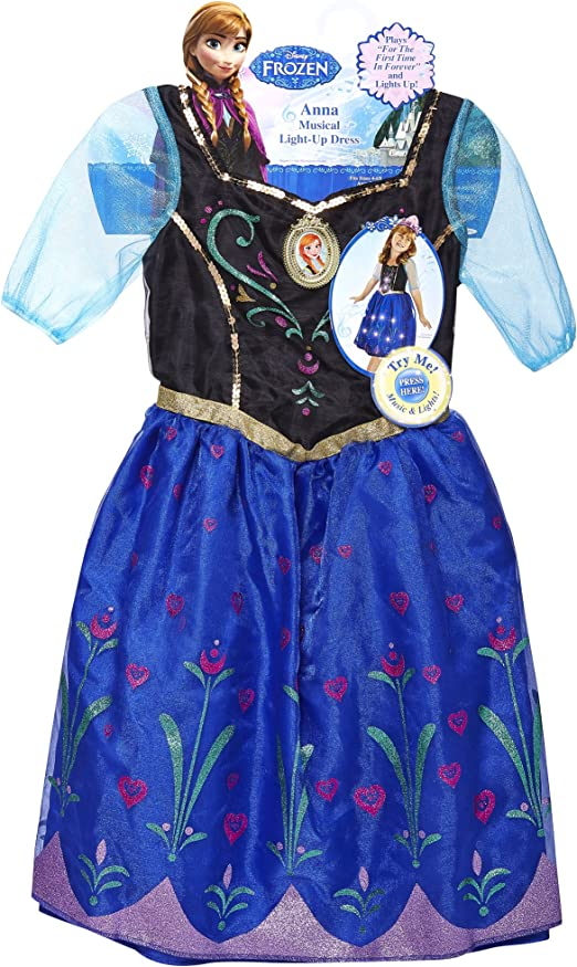 Le Ragazze Ufficiale Elsa Frozen illuminare Musical Disney Princess Costume