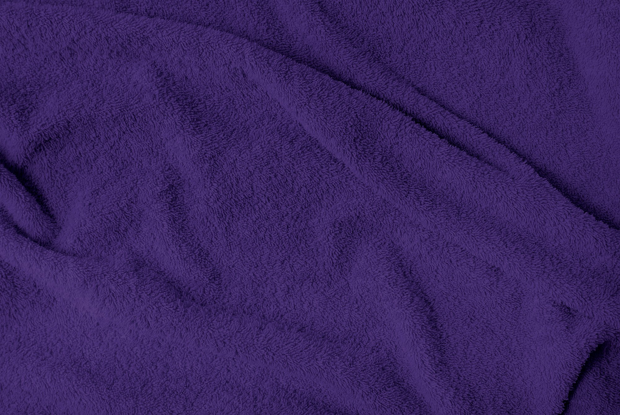 Puffy Cotton Large Bath Towel - 4 Pack Set - Oversize Bath Sheet (Hotel, Spa, Bath) Super Soft and Observant (Purple) by Puffy Cotton (Image #3)