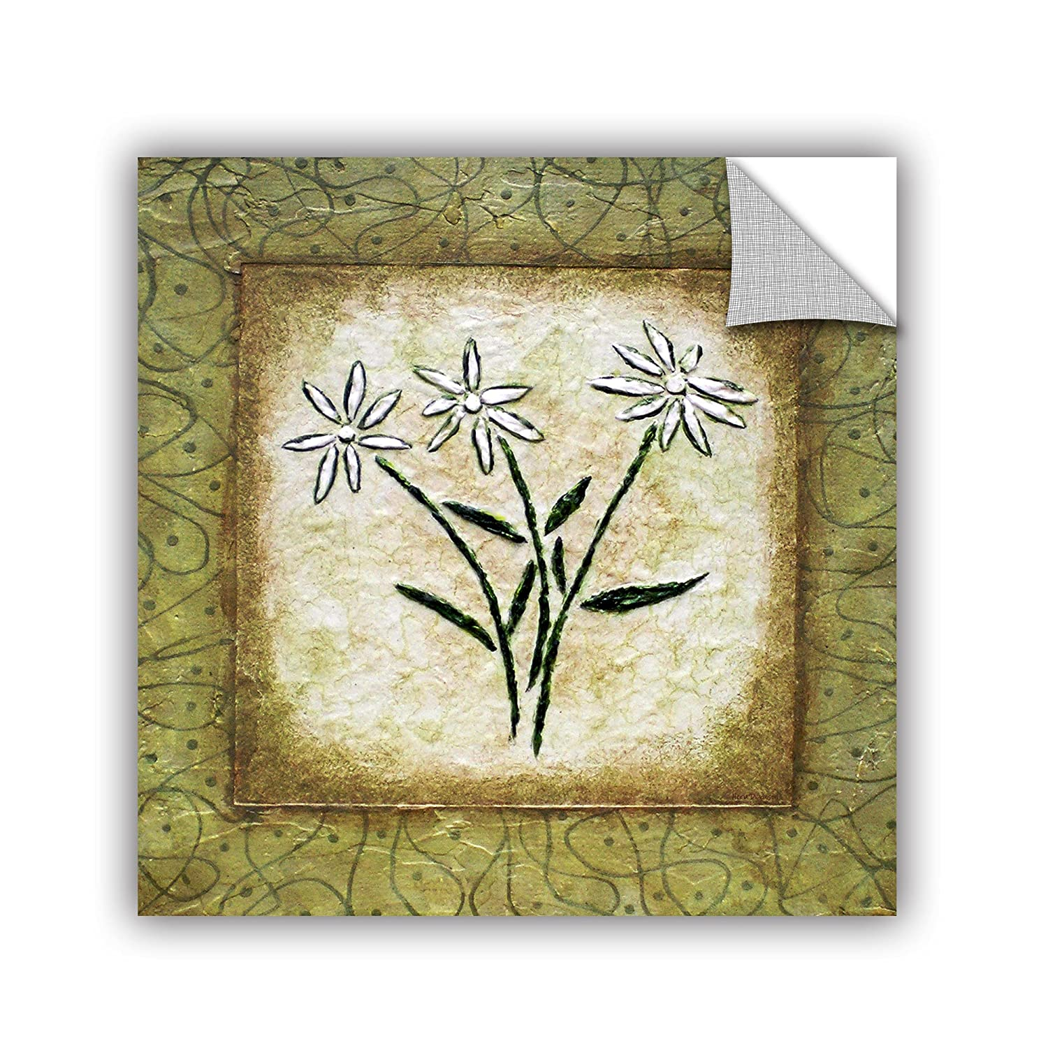 ArtWall Elana Rays Good Fortune Appealz Removable Graphic Wall Art Multicolor 18 x 18