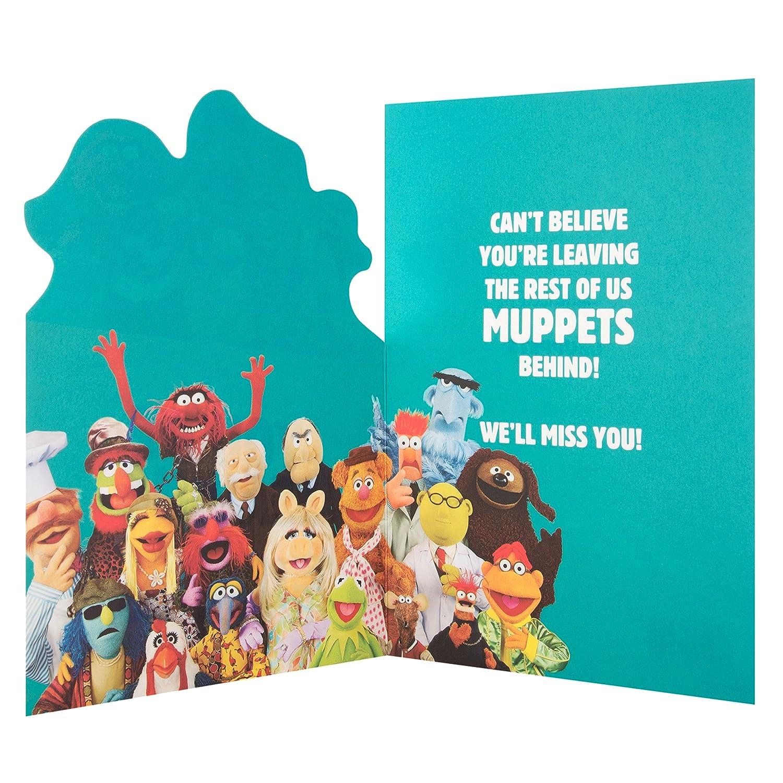Hallmark Muppets Leaving Cardfrom All of Us Medium