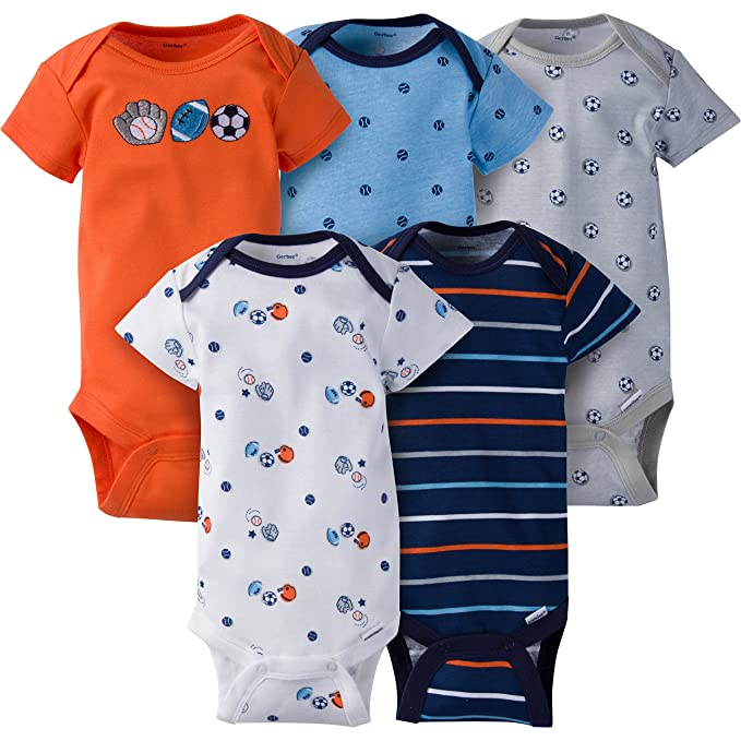 Clothes, Shoes & Accessories 0-3 Months Gap Unisex Boys Girls Bodysuit Green New Varieties Are Introduced One After Another