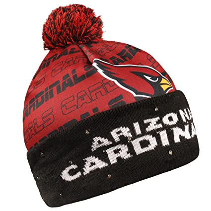 45ad1203bb2 Amazon.com   Arizona Cardinals Light Up Printed Beanie   Sports ...