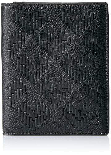 Fossil Rfid Passport Wallet-black Pass Case