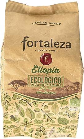 Café FORTALEZA - Café Grano Ecológico Etopía bolsa 250 gr [Pack de 3]: Amazon.es: Alimentación y bebidas