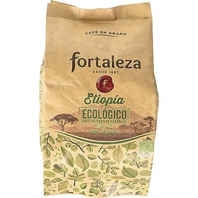 Café FORTALEZA - Café Grano Ecológico Etopía bolsa 250 gr [Pack de 3]