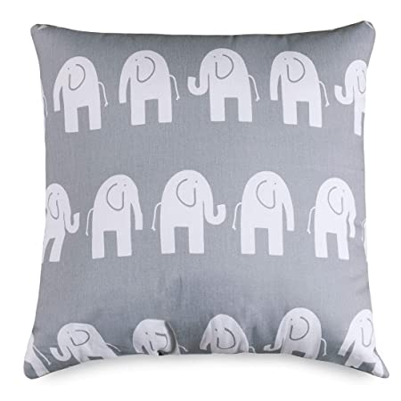 Majestic Home Goods Gray Ellie Indoor Large Pillow 20 L x 8 W x 20 H