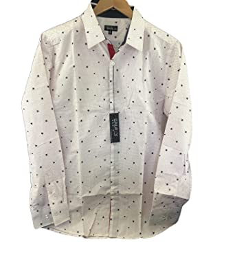9a990d1ce Image Unavailable. Image not available for. Color: Galaxy by Harvic Men's  Slim Fit Button-Down Dress Shirt ...