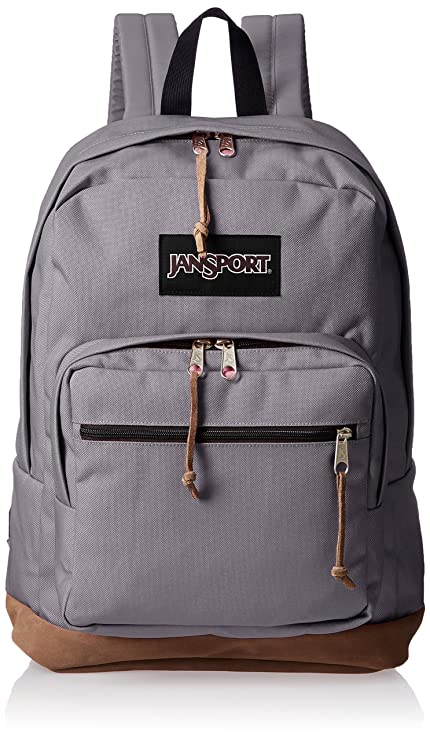 4c7779b3e44c Amazon.com  JanSport Right Pack Laptop Backpack - Grey Horizon ...