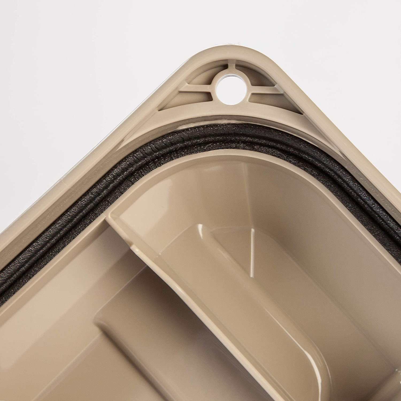 Black Store-It-All Utility Tote 4 Pack IRIS 82 Quart Weathertight Storage Box