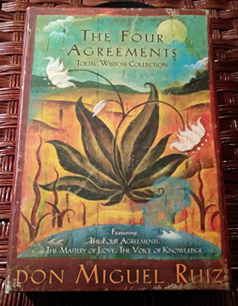 Amazon The Four Agreements Toltec Wisdom Collection 3 Book