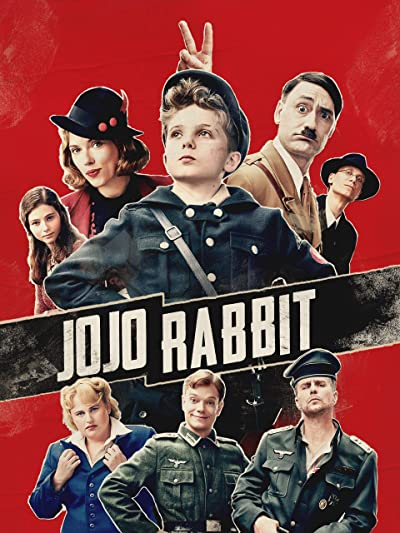 Poster of Jojo Rabbit 2019 Full English Free Download Watch Online In HD Movie Download 480p HDRip