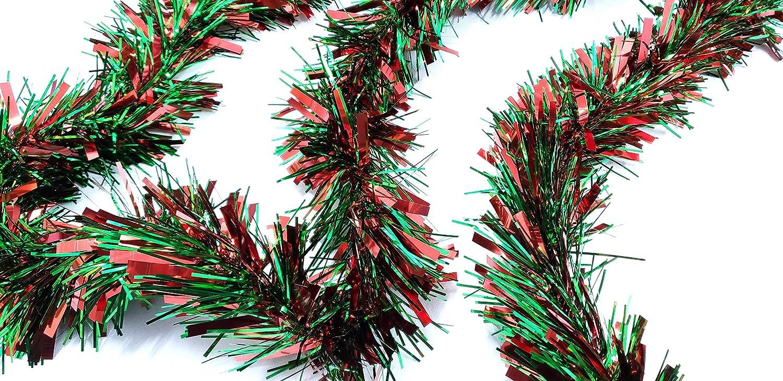 CraftMore Christmas Tinsel Garland