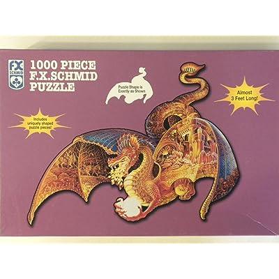 Fire Dragon: 1000 PIece F.X. Schmid Puzzle: Toys & Games