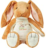 """Kids Preferred Guess How Much I Love You Nutbrown Hare Floppy Bunny Stuffed Animal, 15.5"""""""