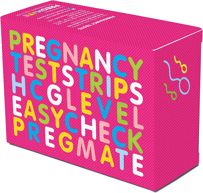 Amazon Com Pregmate 50 Pregnancy Test Strips 50 Count Health Personal Care