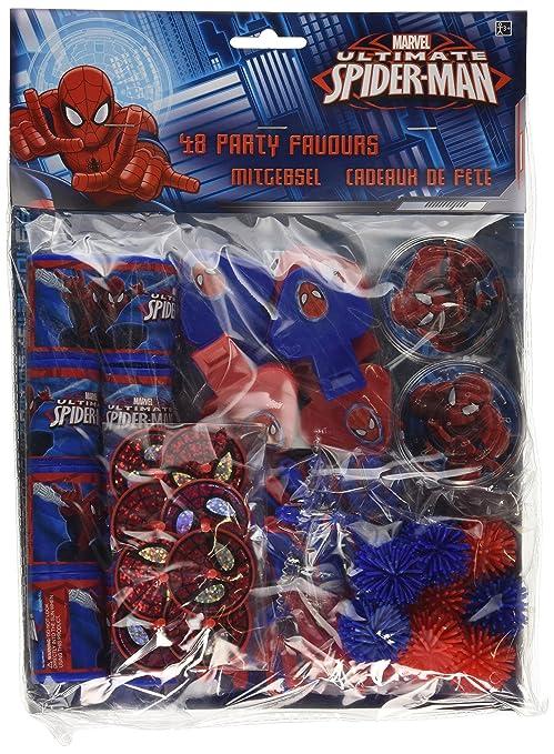 16 opinioni per Regali Festa Spiderman, 48 Pz