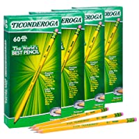 Deals on 240-PK TICONDEROGA Pencils WoodCased #2 HB 14634