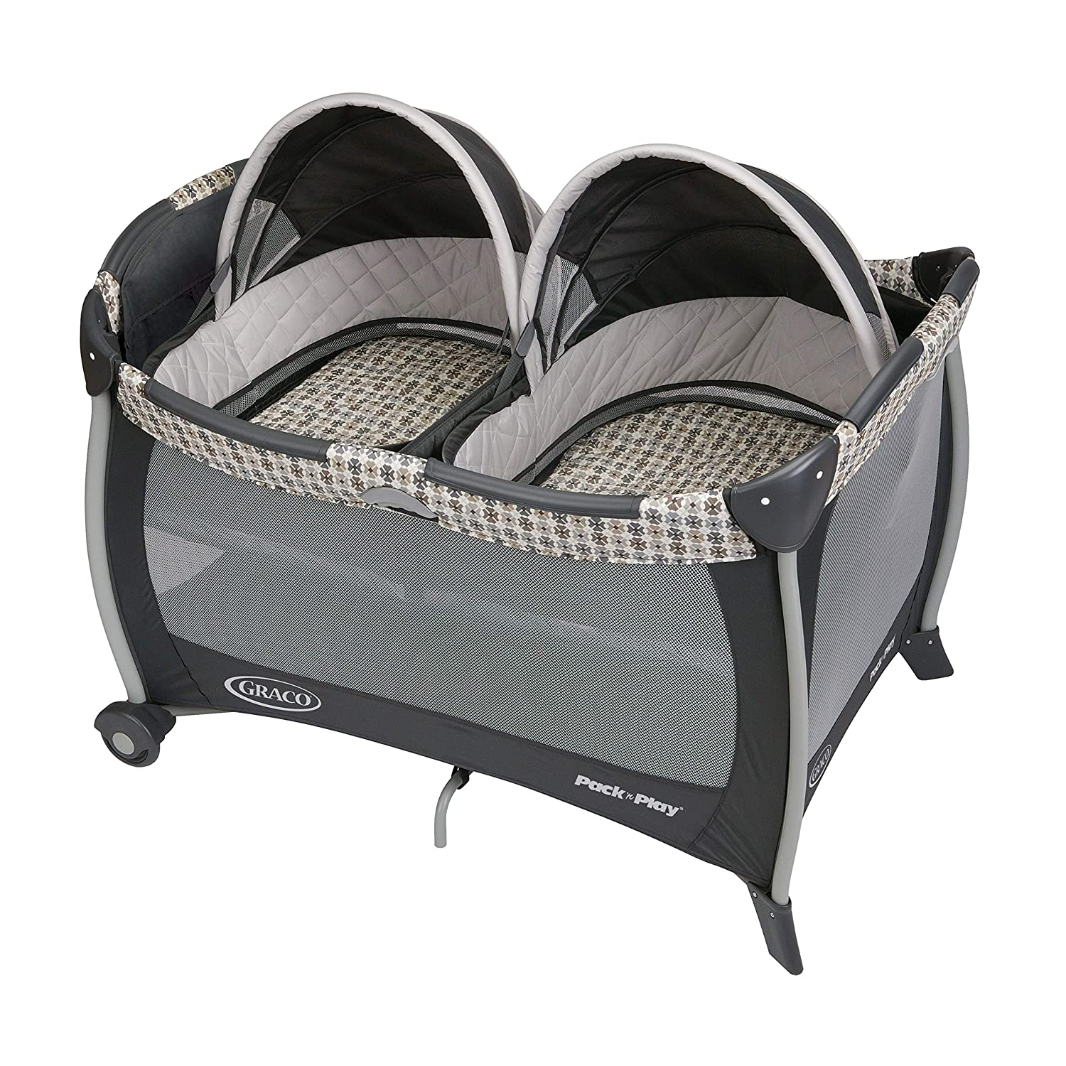 Graco Pack n Play Playard with Bassinet for Twins, Vance