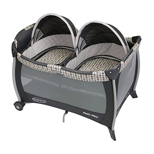 Graco Pack 'n Play Playard with Twins Bassinet, Vance, One Size