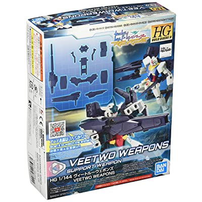 Bandai Hobby HGBD: R 1/144#02 Veetwo Weapons Gundam Build Divers Re: Rise: Toys & Games
