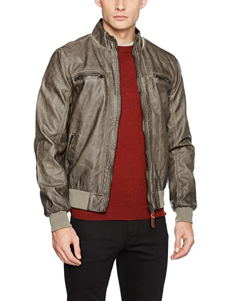 Diego, Chaqueta para Hombre, Marrón (Dark Brown), Medium Indicode