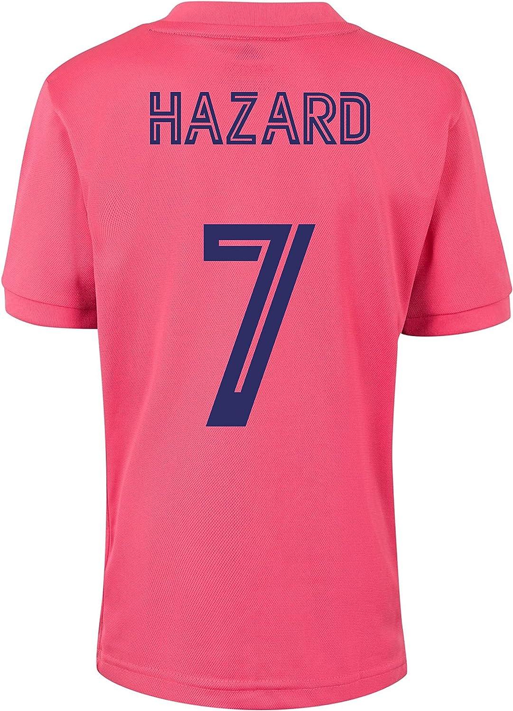 Champion's City Kit - Jugadores - Camiseta y Pantalón Infantil Segunda Equipación - Real Madrid - Réplica Autorizada - Temporada 2020/2021
