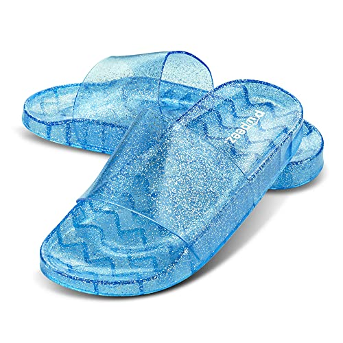92baa6fc4db12 Pupeez Girls Flip Flop Sandals -A Great Kids Summer Open Toe Jelly ...