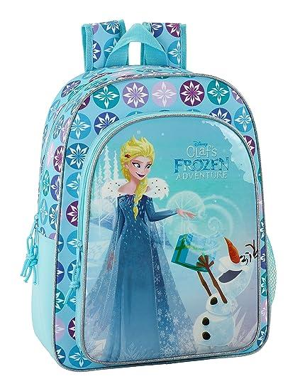 Disney Frozen 2018 Sac à dos enfants, 34 cm, 10 liters, (Azul celeste)