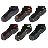 Amazon Price History for:Starter Girls' 6-Pack Athletic Low-Cut Ankle Socks, Prime Exclusive