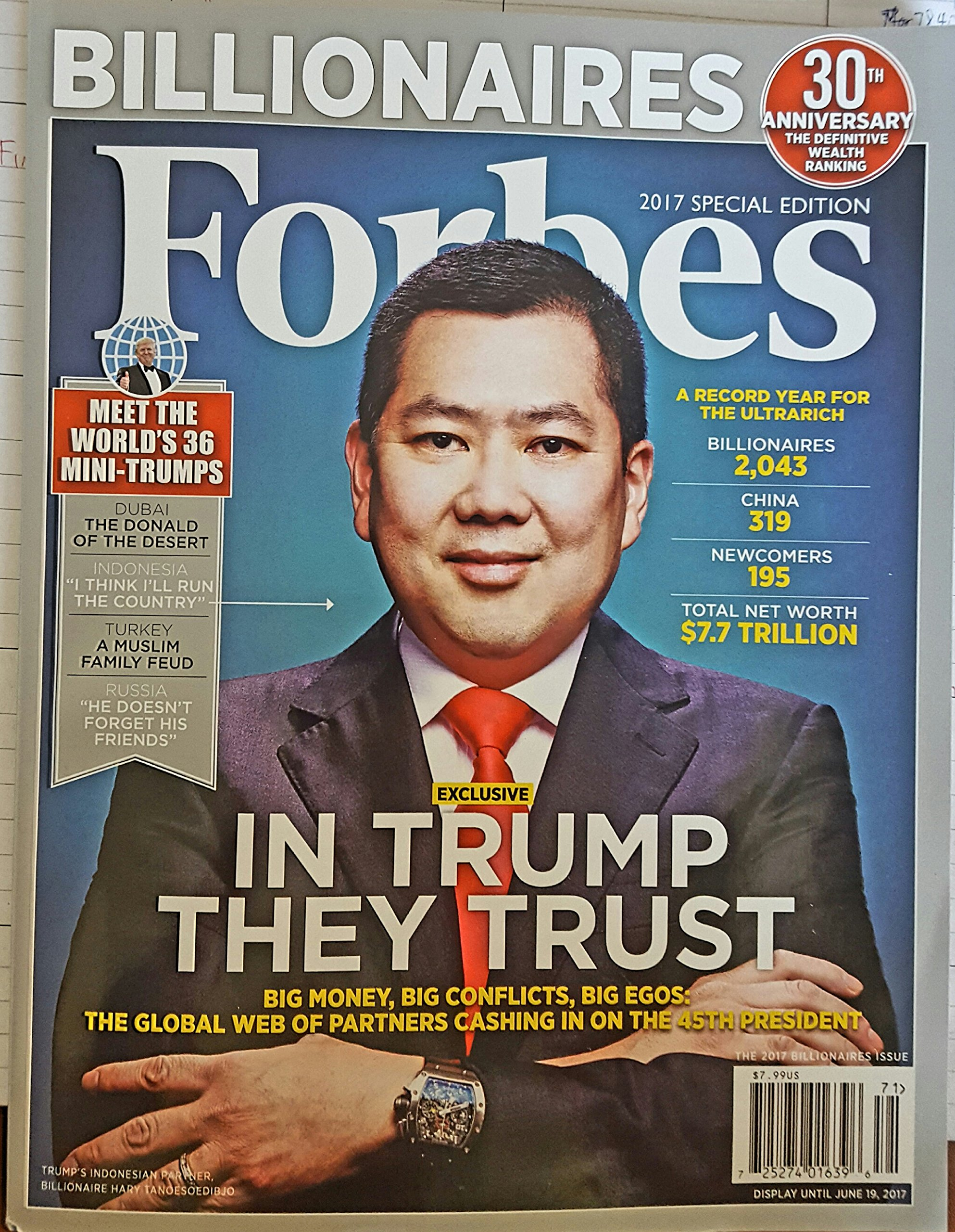 FORBES MAGAZINE 2017 30TH ANNIVERSARY RICHES BILLIONAIRES ISSUE SPECIAL EDITION - MEET THE WORLD'S MINI-TRUMPS, 2017 WEALTH RANKING, A RECORD YEAR FOR THE ULTRARICH pdf