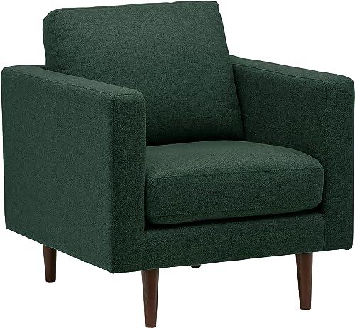 Amazon Brand Rivet Revolve Modern Upholstered Armchair