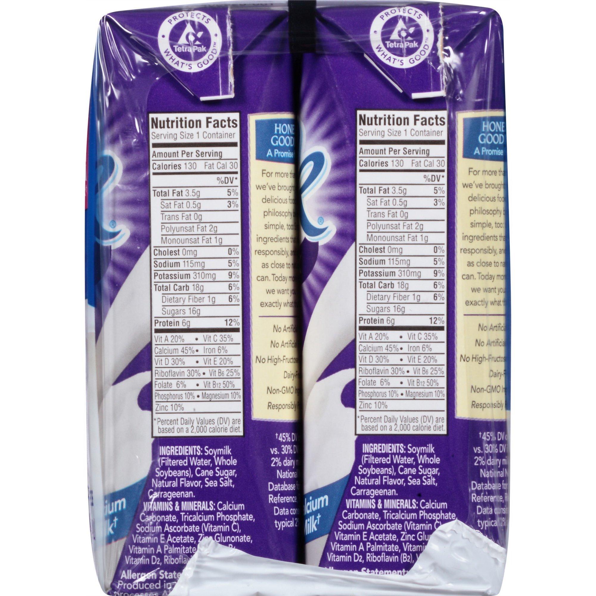 Silk Very Vanilla Soymilk, 8 fl oz 6 Count (Pack of 2) by Silk (Image #5)