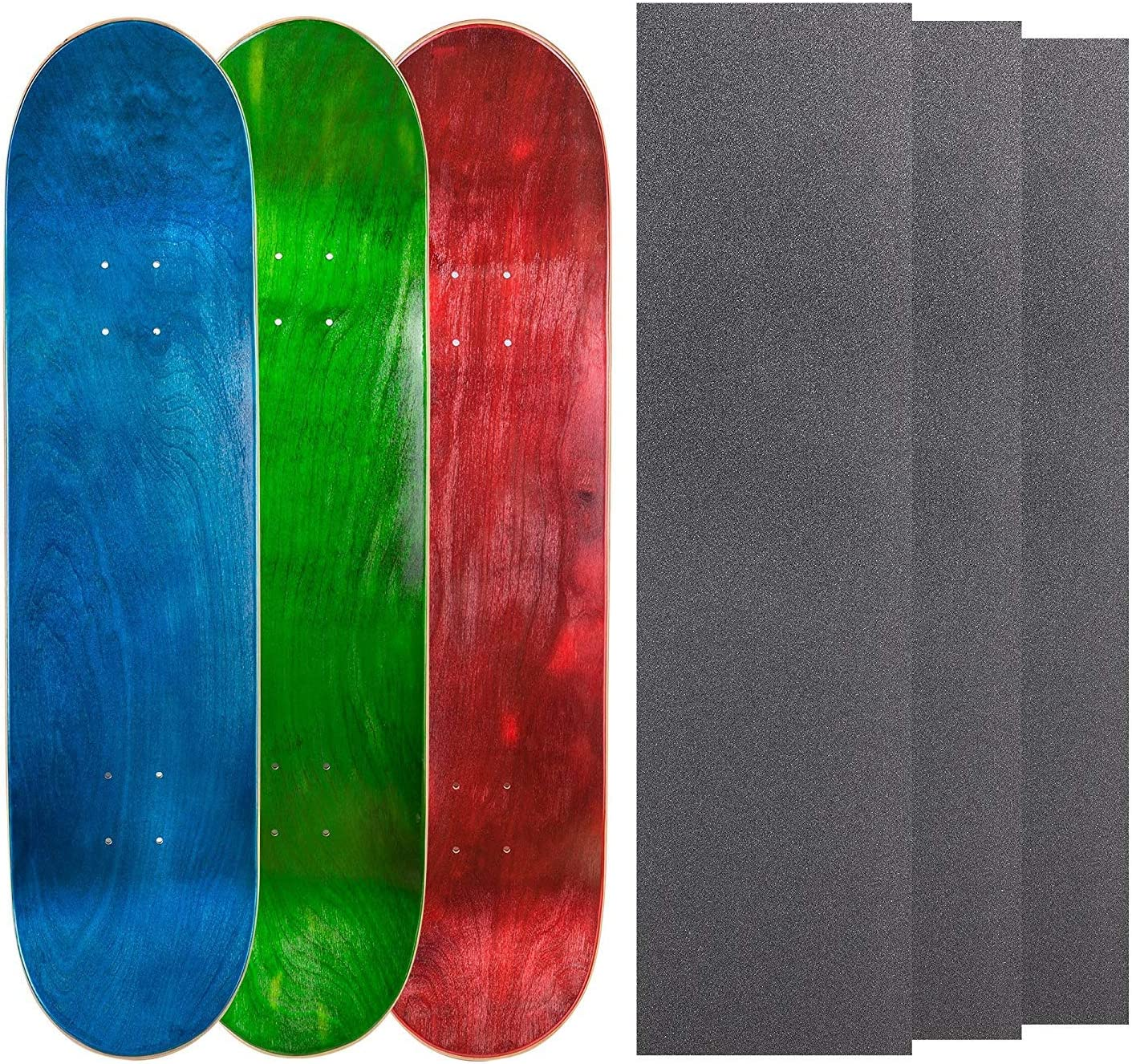 Cal 7 Blank Skateboard Decks Set of 3