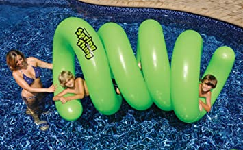 Amazon.com: Swimline Spring Thin. Juguete inflable para ...
