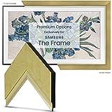 """Deco TV Frames - Contemporary Gold Frame Custom for Samsung The Frame TV (43"""")"""