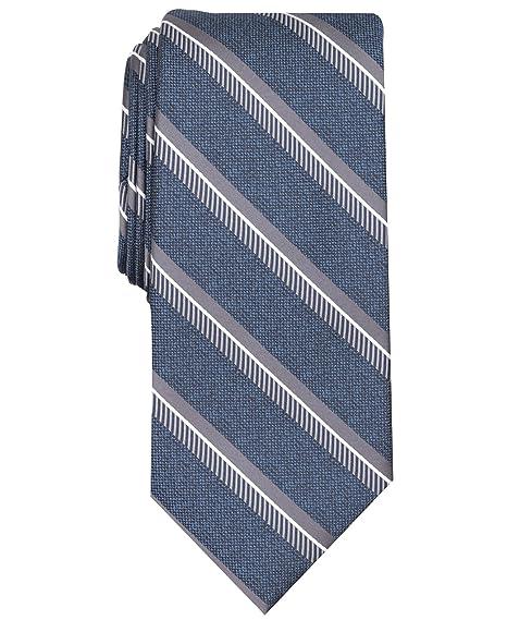 Perry Ellis Hombre 2PC8-3009 Corbata - Azul - talla única: Amazon ...