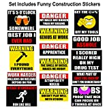 Hard Hat Stickers 50+ MEGA PACK, Tool Box