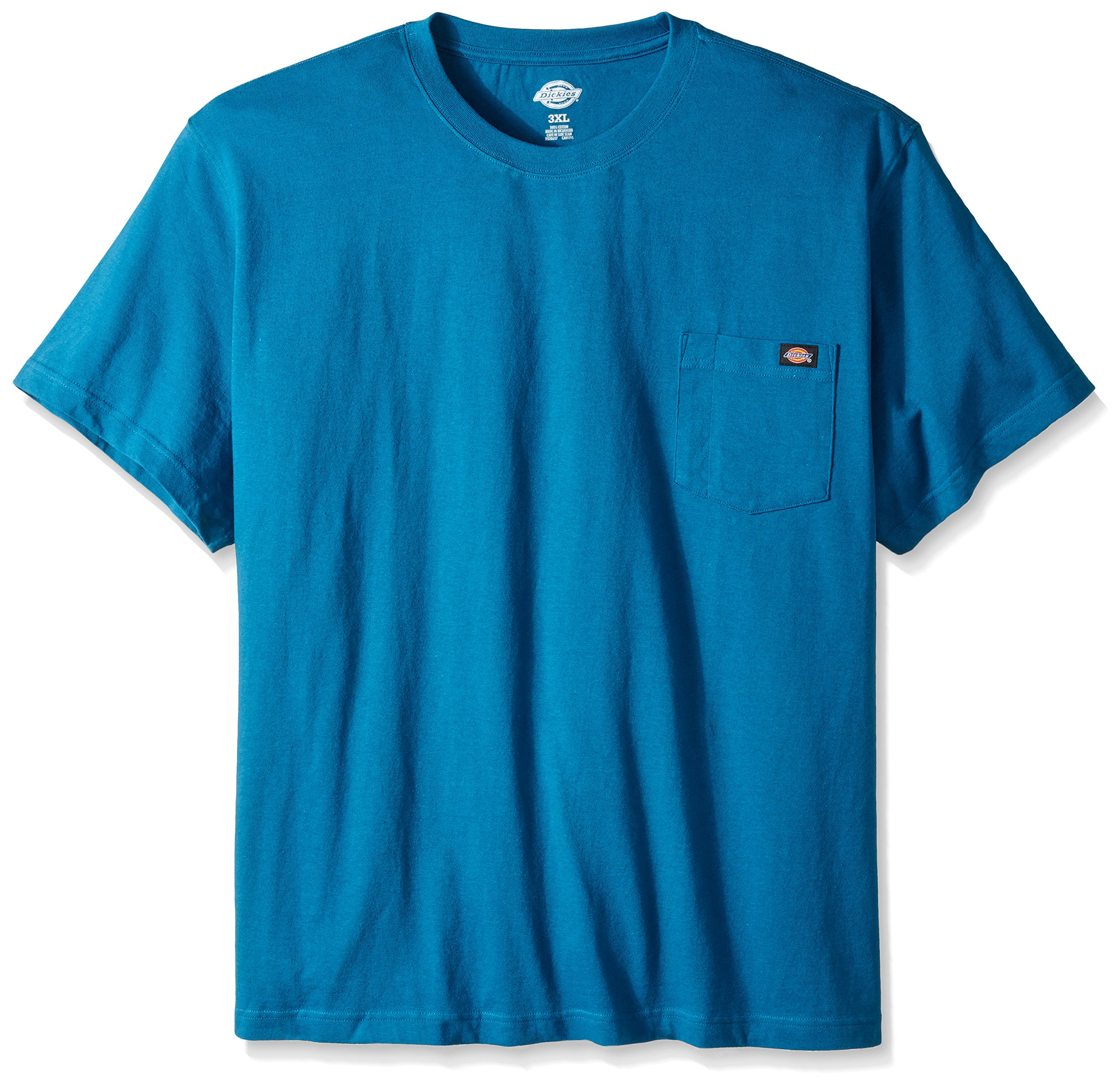 Dickie's Men's Big and Tall Short Sleeve Heavyweight Crew Neck Pocket T-Shirt, Southern Fall, X-Large Tall by Dickies