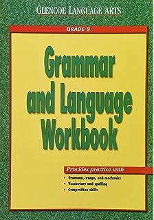 Mcdougal littell literature grammar for writing workbook grade 9 glencoe language arts grammar and language workbook grade 9 fandeluxe Images