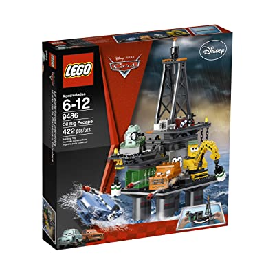 LEGO Cars Oil Rig Escape 9486: Toys & Games